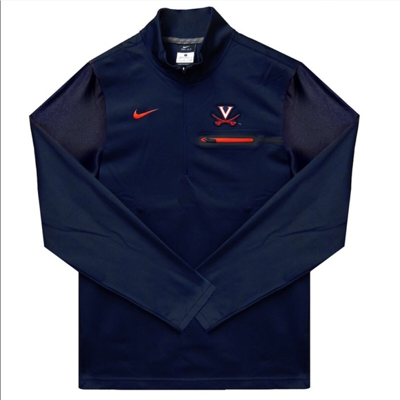 f4105ffcc560 Nike Virginia Cavaliers Coach s Jacket Half Zip